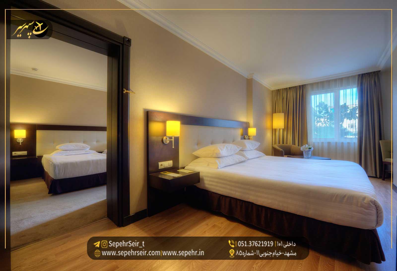 با انواع اتاق های هتل آشنا شوید - مجله سپهرسیر