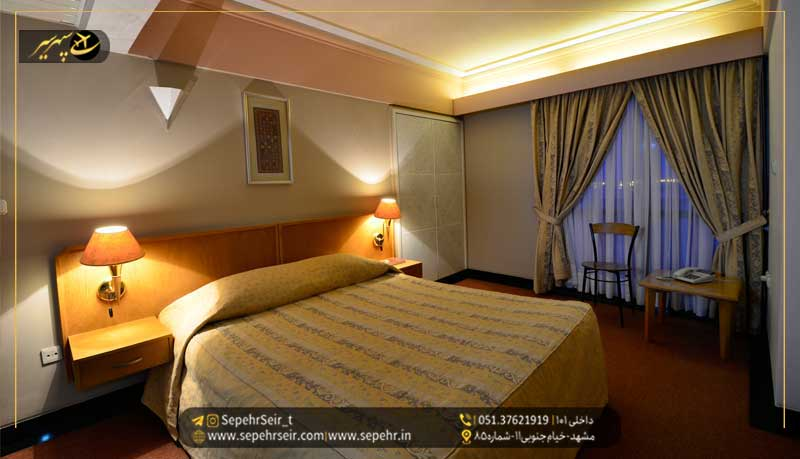 رزرو هتل در مشهد؛ رزرو هتل های 5 ستاره مشهد