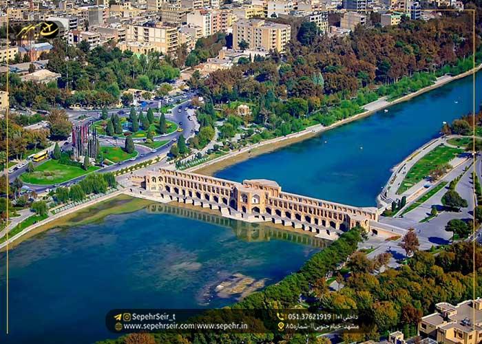 معرفی و رزرو بهترین هتل های اصفهان سپهرسیر
